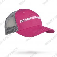 Cappellino in cotone Magic Marine con visiera e nuca retata mod. 2017 Colore fuxia