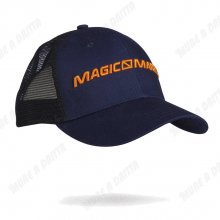 Cappellino in cotone Magic Marine con visiera e nuca retata mod. 2017 Colore blu