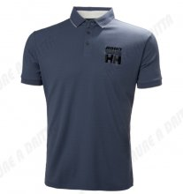 Polo Helly Hansen in tactel con stampe col. Grigio Mirage mod. HP RAC. 2018